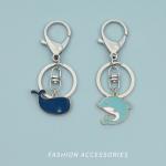海豚情侶鎖匙扣