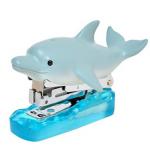 日本Magnets海洋生物造型10號針小釘書機(海豚款)
